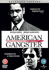 American Gangster - Extended Edition,- Denzel Washington -BRAND NEW SEALED