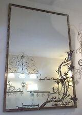 CORNICE DESIGN per Specchio o Foto FERRO BATTUTO cm 100 x 150 . SCONTO 25% . 826