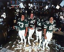 NEW YORK JETS SACK EXCHANGE DEFENSE UNIT 8X10 PHOTO #F