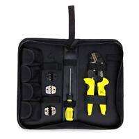 1X(PARON Kit de sertissage de fil multifonction 4 en 1 Pince a sertir a bor 5U5)