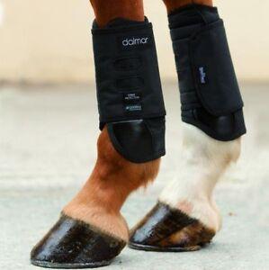 Horseware Dalmar Racing Front Boot - black - Gamaschen