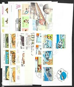 LAOS FIRST DAY COVERS 1980s &1990s 12 covers   (Ref 0240)