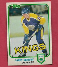 1981-82 TOPPS # 100 KINGS LARRY MURPHY  NRMT-MT ROOKIE CARD