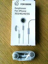 Original OEM Apple iPhone and iPad Earphone MB770G/B Headset White