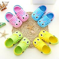 Kids Baby Boy Girls Summer Sandals Slippers Beach Clogs Pumps Caterpillar Shoes
