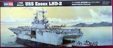 HOBBY BOSS 83403  1:700 USS ESSEX LHD-2 FLUGZEUG-TRÄGER NEU - MILITÄR