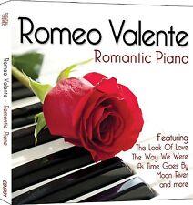 Romeo Valente - Romantic Piano Music - CD - BRAND NEW SEALED