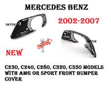 Front Bumper Right AMG Mesh Grile For Mercedes W203 C230 C280 C320 C350 GENUINE