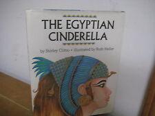 Egyptian Cinderella/ Climo/ Heller/ hardback/ jacket/ 1989