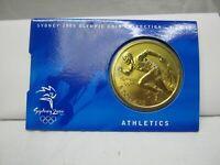 2000 Sydney Olympics $5 Coin - Australia - No: 1 of 28 - Athletics Uncirculated