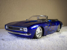 Jada Big Time Muscle 1967 Chevy Camaro Convertible 1:24 Scale