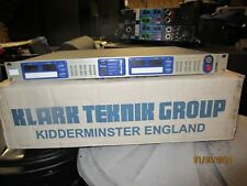 KLARK TEKNIK DN9344 DIGITAL EQ COMPRESSOR CROSSOVER SPEAKER MANAGEMENT SYSTEM