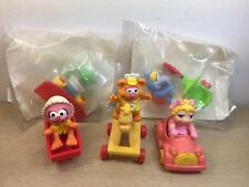 McDonald's Muppet Babies Happy Meal Toys Ms Piggy Kermit Frog Animal Complete