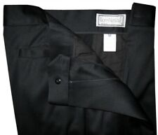 GIANNI VERSACE ITALY EXTREMELY RARE COLLECTORS ORIGINAL BLACK DRESS PANTS E50 32