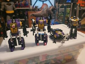 Transformers G1 vintage Insecticons lot 0f 4