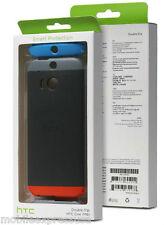 HTC ONE (M8) Double Dip Case - Gray/Smoke w/ Gray/Orange/Blue