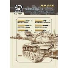 1/35 AFV Club NATO M68/L7 105mm tank ammunition #AG35047