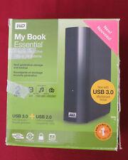 WD My Book Essential 2TB USB 2.0 External Hard Drive