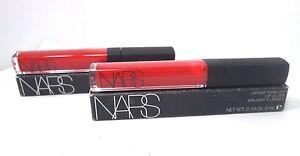 Lot/2 Nars Larger Than Life Lip Gloss ~ Holly Woodlawn ~ .19 oz x 2 ~ BNIB