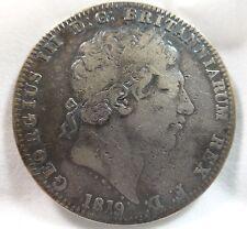 1819 Great Brittan King George III LIX Coin KM 675