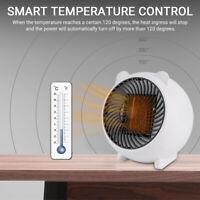 Portable Electric Silent Desk Mini Air Heater Fan Home Warmer Heating Winter Fan