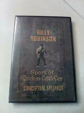 Billy Robinson Sport of Catch as Catch Can Wrestling Conceptual Syllabus DVD