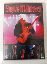 Video DVD - YNGWIE MALMSTEEN - Live in Brazil 1998 - Excellent (EX) WORLDWIDE