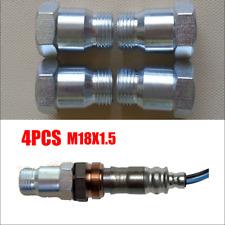 4pcs M18x 1.5 O2 Extender Extension Adapter Oxygen Sensor Spacer Bungs