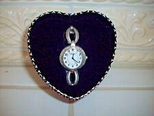 Brighton Alta 2 tone Watch - Needs Battery - Includes gift Tin