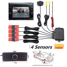 Visible Dual Core CPU Car Video Parking Sensor Reverse Backup Radar Alarm System