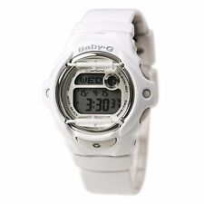 Casio Baby-G  BG169R-7A Digital Grey Dial White Resin Band Watch