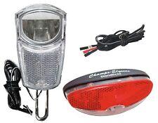 LED Scheinwerfer SET Rücklicht, Kabel Standlicht Sensor Nabendynamo BD-4268