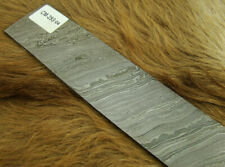 ALISTAR UK 25 CM Long Twisted Pattern Damascus Steel Billet Bar Craft Making New