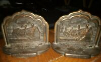 Vintage Shakespeare's House Stratford on Avon Bookends
