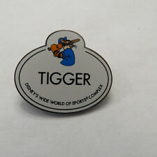 Disney WDW Cast Member Name Tag Tigger Pin