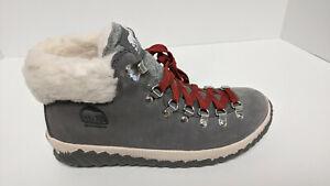 Sorel Out N About Plus Conquest Boots, Grey, Women's 8.5 M