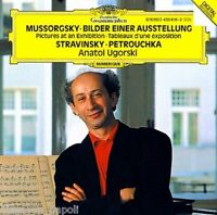 Mussorgsky : Pictures At An Exhibition; Stravinsky : Petrouchka / A.Ugorski - CD