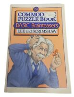 Commodore Puzzle Book C64 VIC 120 Brainteasers Lee Scrimshaw Vintage Computers