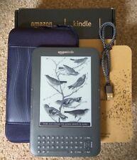 Amazon Kindle Keyboard 4GB, Wi-Fi + 3G - WARRANTY