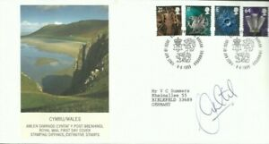 1999 Wales First Day Cover, ORIGINALLY SIGNED by ALAN CURTIS (Swansea)!