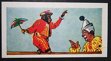 Tight Rope Walking Chimpanzee Circus Act    Superb Vintage Card  ## EXC