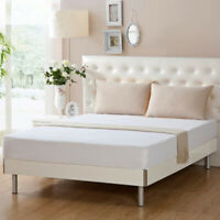 """12"""" Deep Quilted Waterproof Mattress Protector Fitted Bed Cover Sheet 01"""