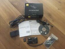 Nikon COOLPIX S570 12.0MP 5x Zoom Digital Camera + All Accessories - Excellent