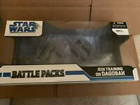 Star Wars Legacy Collection 2008 Jedi Training on Dagobah Battle Pack BOX ONLY