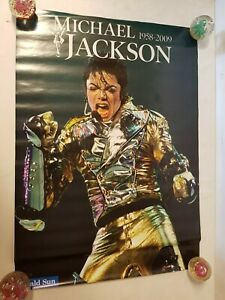 Lot of 5 Michael Jackson 1958-2009 The King of Pop Herald Sun Posters