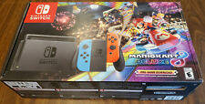 Nintendo Switch Mario Kart 8 Deluxe Bundle Never Used New in Box