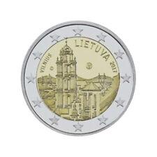 """Lithuania 2 Euro commemorative coin 2017 """"Vilnus"""" - UNC ***NEW***"""