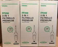 SACCCHETTI FOLLETTO ORIGINALI VK 200 FP 6 sacchetti + 6 profumi dovina !!!