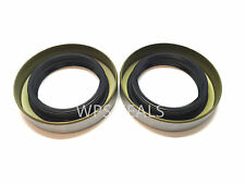 Qty 2 Trailer Hub Grease Seal 168255TB 1.68'' x 2.56'' Double Lip #84 Spindles