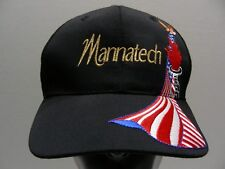 MANNATECH - USA OLYMPIC TORCH - ADJUSTABLE STRAPBACK BALL CAP HAT